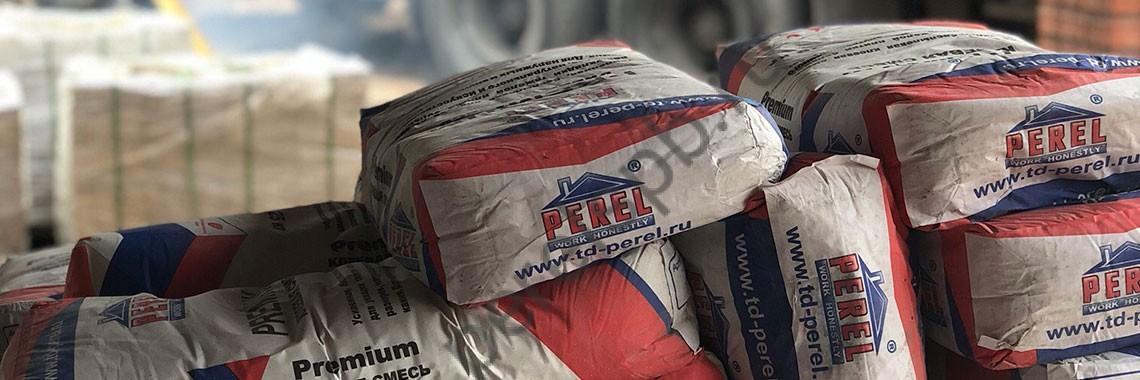 Сухие строительные смеси Perel