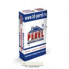 Цветная кладочная смесь Perel SL 0001 супер-белая 25 кг - perelspb