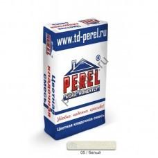 Цветная кладочная смесь Perel SL 0005 белая 50 кг - perelspb