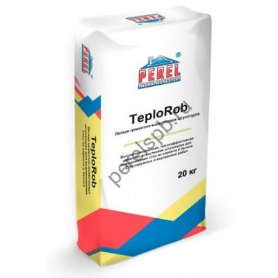 Легкая цементно-известковая штукатурка TeploRob - perelspb