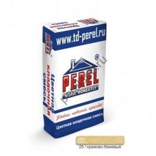 Цветная кладочная смесь Perel SL 0025 кремово-бежевая 25 кг - perelspb