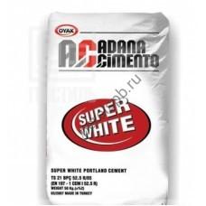Цемент белый ADANA m500 - perelspb