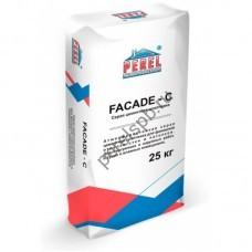 Серая цементная шпатлевка FACADE - C - perelspb