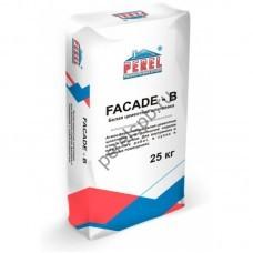 Белая цементная шпатлевка FACADE - B - perelspb